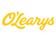 O Learys Logotyp Negativ